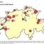Les grèves en Suisse et à Vevey