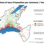Taux d'imposition des communes (Vaud)