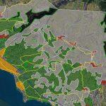 Vevey : évolution du territoire 1900 – aujourd'hui