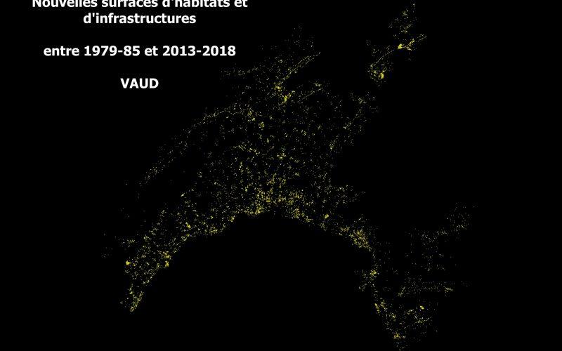 Maisons individuelles : évolution Vaud