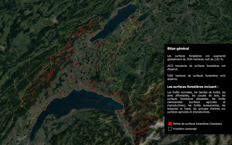 Évolution des forêts vaudoises